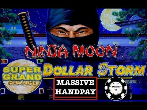 ⚡️DOLLAR STORM NINJA MOON ⚡️(2) HANDPAYS NEW STYLE OF LIGHTNING LINK SLOT ⚡️SUPER GRAND CHANCE - 동영상