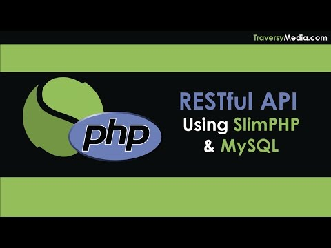 RESTful API With PHP & MySQL