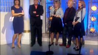 THE ORIGINAL BUCKS FIZZ SINGING MAKING YOUR MIND UP ON THIS MORNING 28TH MAY 2010