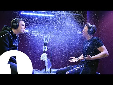 Innuendo Bingo with Conor Maynard, and it's a really wet one...!