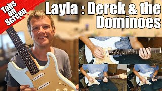 Layla : Eric Clapton : Derek and the Dominoes : Guitar Lesson #386
