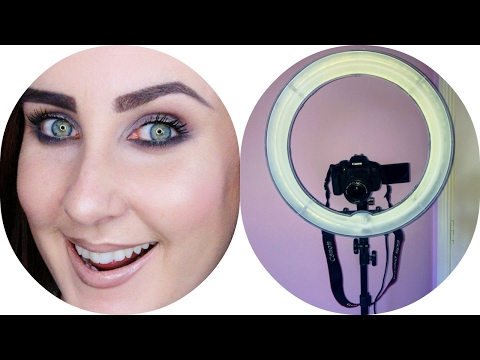 18inch Dimmmable Neewer Ringlight Unboxing incl Diffuser & Hotshoe Adapter
