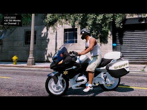 Sheriff BMW R 1200RT ELS V 2.00 Grand Theft Auto V MGVA Modification