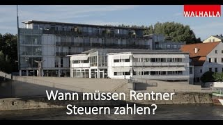 Steuertipps: Wann muss ich als Rentner Steuern zahlen?