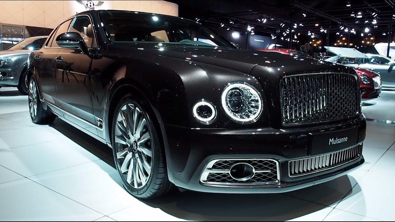 Bentley Mulsanne 2018 In Detail Review Walkaround Interior