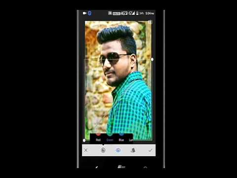 Learn How to Change your Pic in cool look by K.K  Editing