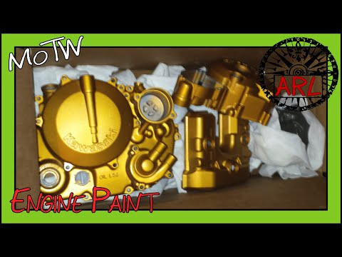 how to paint a motorcycle engine with spray cans youtube. Black Bedroom Furniture Sets. Home Design Ideas