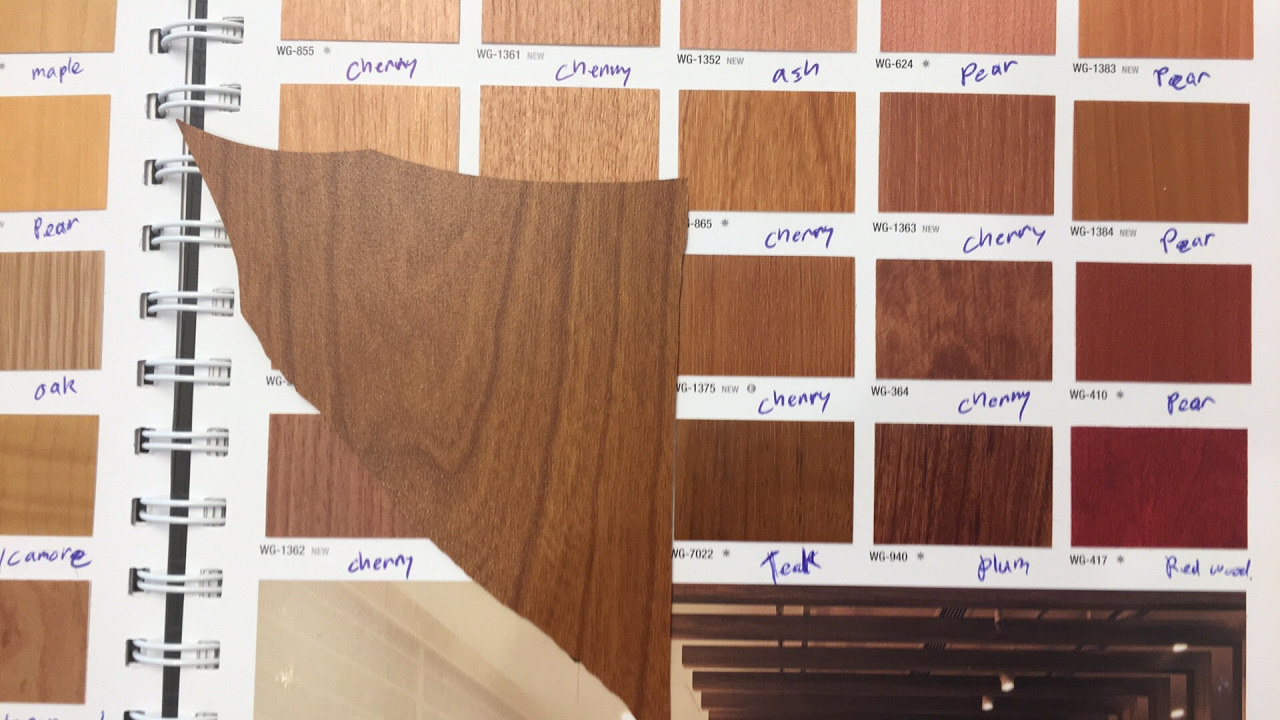 Color Matching Wood Grains Di Noc And