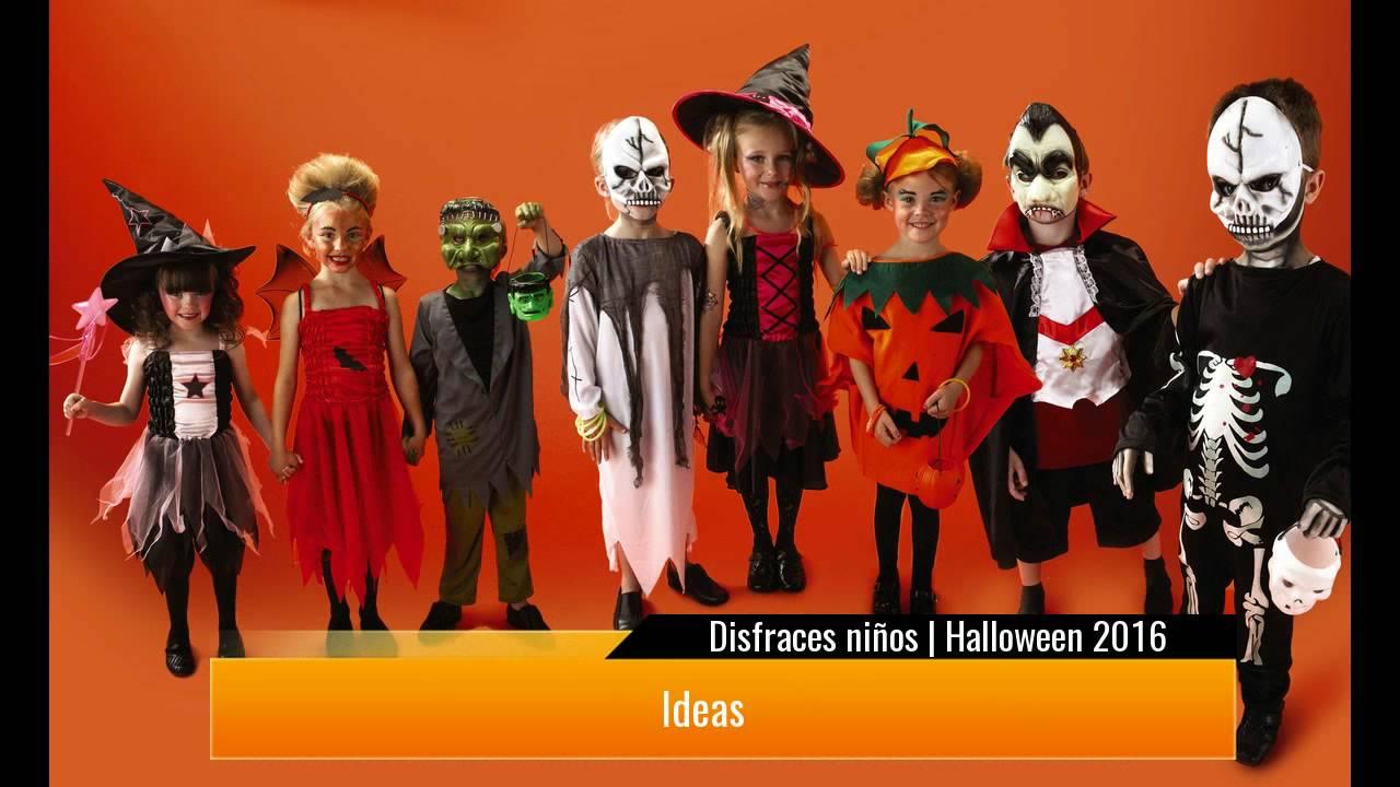 disfraces de halloween de ninos