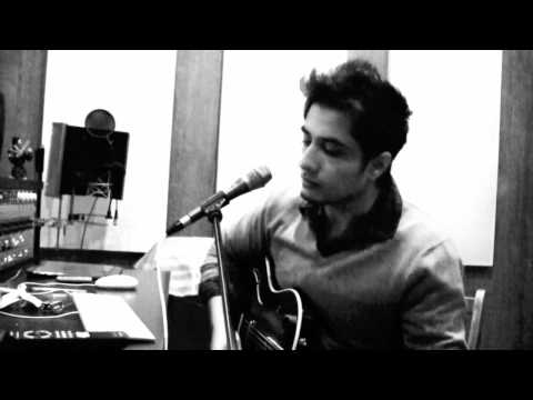 Ali Zafar sings live in his studio for his on line fans