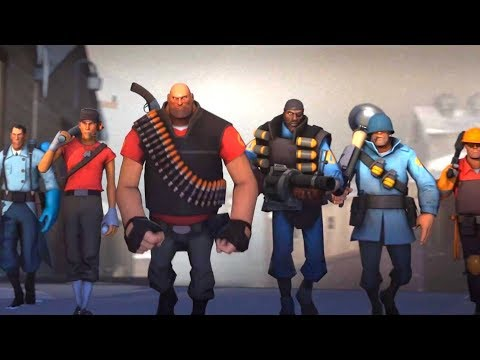 [4K] Team Fortress 2 💥 Xbox One X Enhanced UHD Gameplay The Orange Box Source Engine TF2 Multiplayer