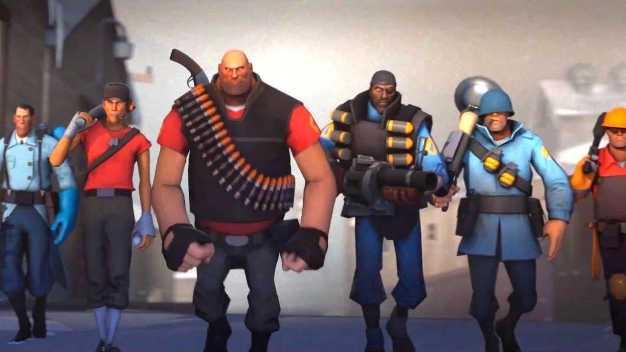 4k Team Fortress 2 Xbox One X Enhanced Uhd Gameplay The Orange