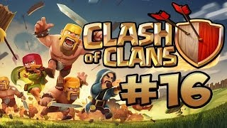 CLASH OF CLANS #16 - DA BAUT ER DIE BASE ★ Let's Play Clash of Clans