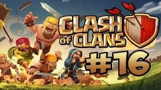 CLASH OF CLANS #16 - DA BAUT ER DIE BASE ★ Let's Play Clash of Clans