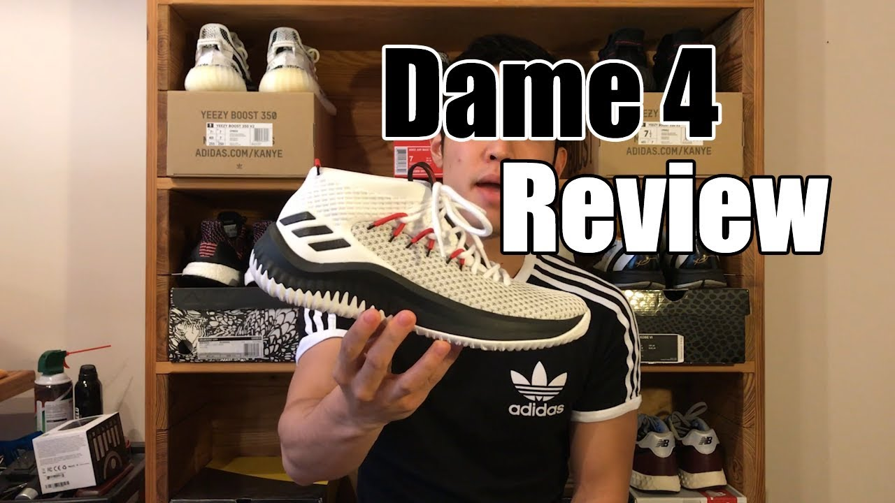 Adidas dame 4 review / prima impressione su youtube