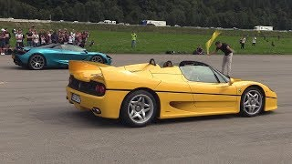 Ferrari F50 vs Mclaren 720s Spider