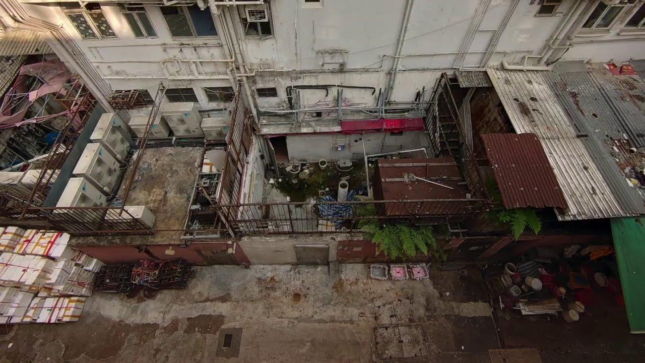 世界の路地写真 香港