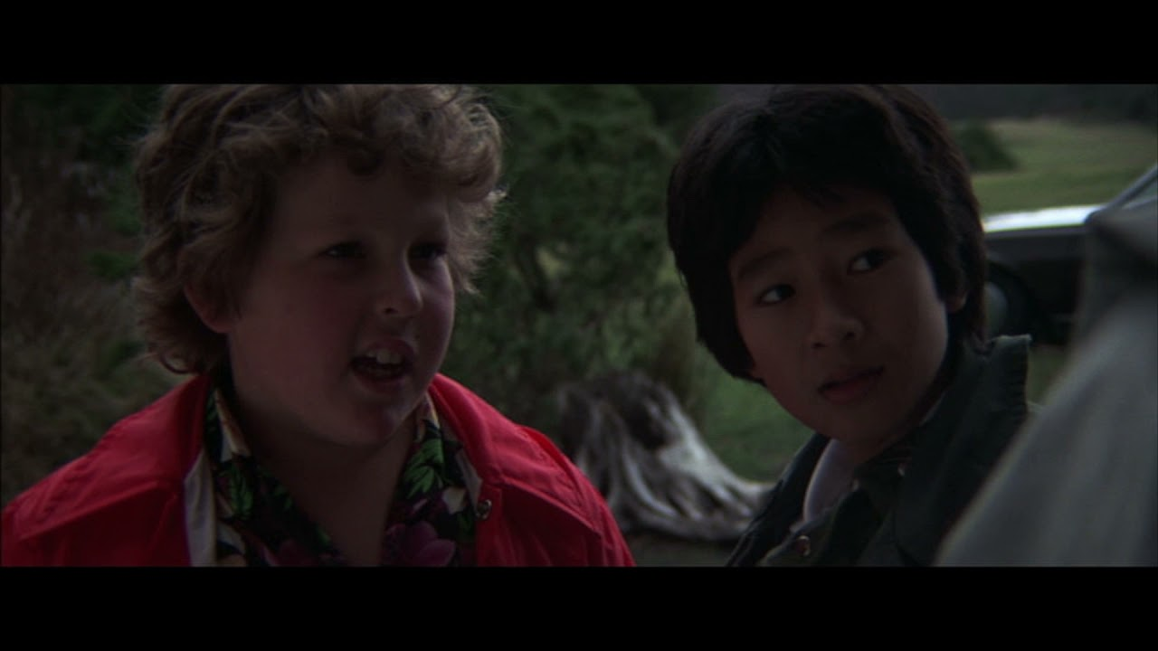 The Goonies(1985) - Mikey Shows His Friends The IT Monster