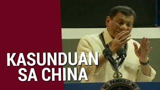 SONA: Duterte, sinabing 'di kayang pagbawalan ang China na mangisda sa Philippine territory