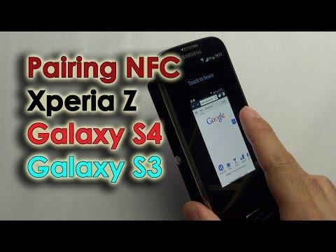 Pairing NFC - Galaxy S3, S4 & Xperia Z