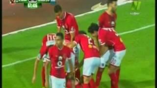 شاهد .. وليد سليمان يضيف الهدف الثاني للأهلي في شباك المقاصة