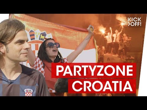 My World Cup 2018 Party with Croatia Fans in Zagreb!