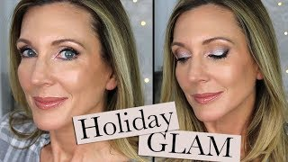 Holiday Glam Makeup Tutorial | Sultry Eye, Dewey Skin!