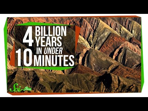 4 Billion Years in Under 10 Minutes
