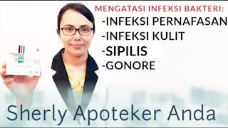 Obat Infeksi Pernafasan, Infeksi Kulit, Sipilis Serta Gonore   Azithromycin 500 Mg