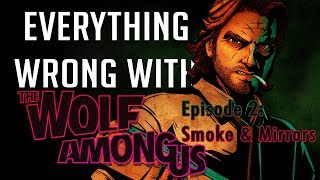 GamingSins: Everything Wrong with The Wolf Among Us - Episode 2: Smoke & Mirrors