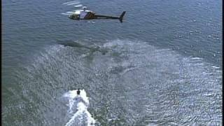 Wakeboarding Behind a Helicopter - Troy Hartman