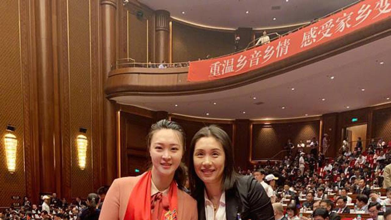 中国女排,江苏籍两大著名主攻相聚,有钱有人有地位,真是大赢家 21-5-2019