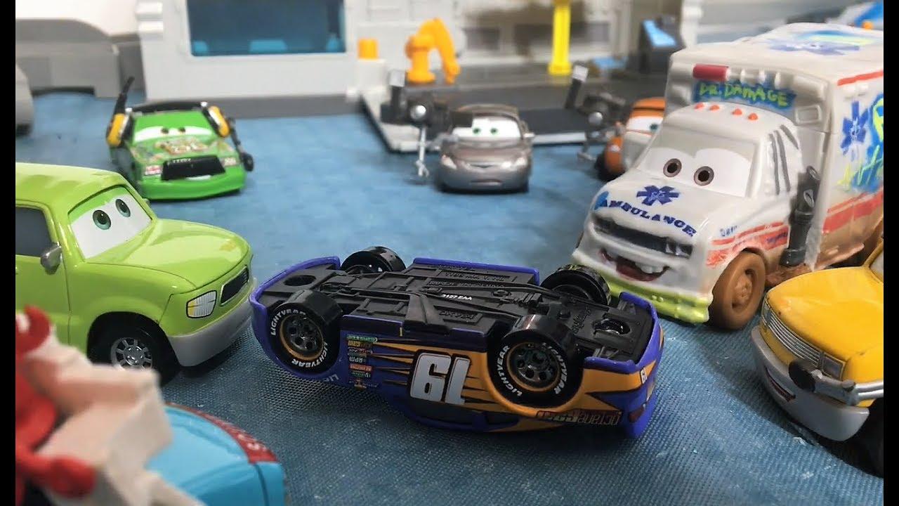 cars 3 rust eze adventures season 2 episode 16 bobby swift crashes youtube