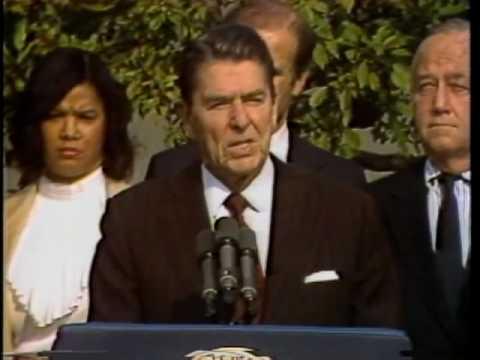 Nov. 2, 1983: Reagan Approves MLK Day