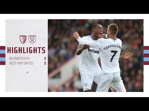 EXTENDED HIGHLIGHTS | AFC BOURNEMOUTH 2-2 WEST HAM UNITED