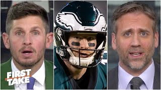 Max Kellerman vs. Dan Orlovsky: Is Carson Wentz to blame for the Eagles' struggles? | First Take