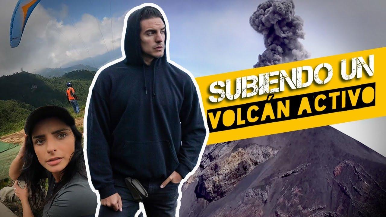 SUBIMOS a un VOLCÁN ACTIVO ¡TOUR EXTREMO! | Vadhir Derbez