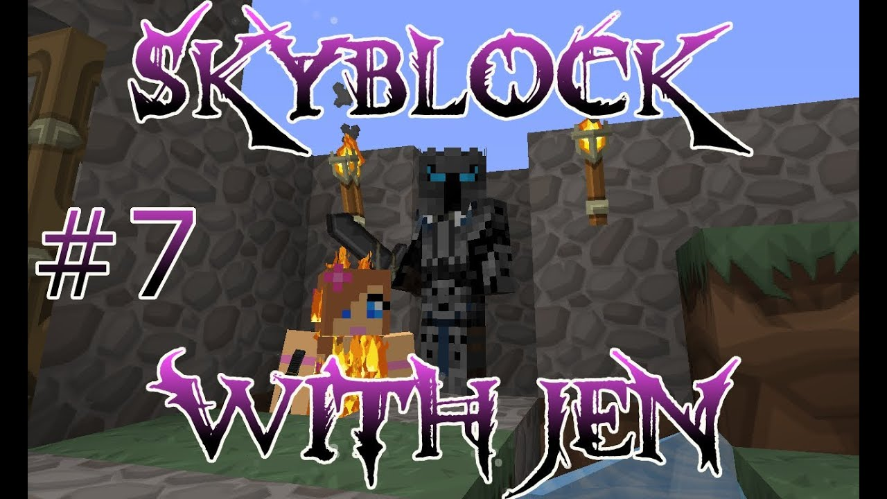 minecraft pat and jen skyblock
