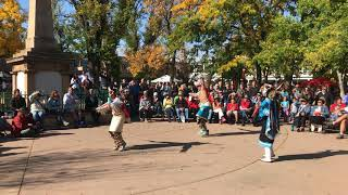 Indigenous Peoples Day Celebration 2017 -  Zuni Pueblo - Soaring Eagle Dance Group Clip 3