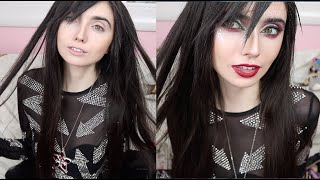 EXTREME HOLIDAY GLITTER GLAM TRANSFORMATION!