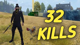32 KILLS || SOLO VS SQUAD || MAKING HISTORY || BREAKING MY OWN RECORDS || THE RECORD BREAKER 🔥 🇮🇳 !!