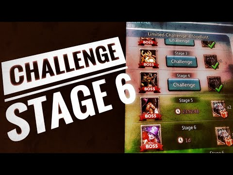 Lords Mobile - Grim Wolf Limited Challenge Stage 6