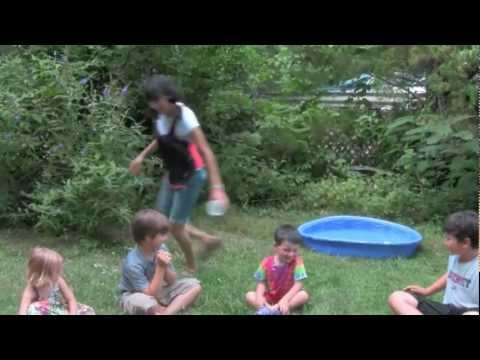 Water Games For Kids!  Drip Drip Splash, Water Balloon Toss, Splash Tag And More!
