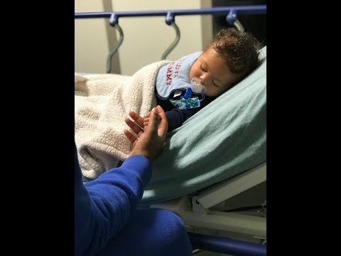 AIDEN HAS SEVERE BRONCHIOLITIS   (HE HAD TO GO TO THE ER TWICE)