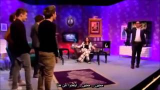 One Direction - Interview with alan carr - مترجمة للعربي part 2