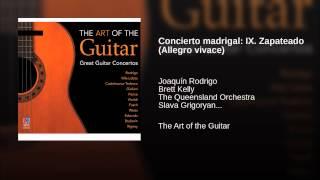 Concierto madrigal: IX. Zapateado (Allegro vivace)