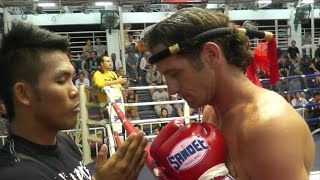 David Helfant Sumalee VS Mitch AKA Thailand: Bangla Boxing Stadium, 23rd Jan 2015