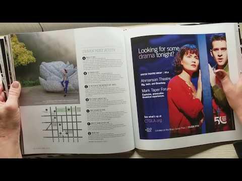 ASMR- Page turning sounds of DTLA neighborhood book-no talking