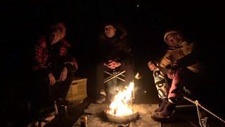 【炎を囲んで】ソロキャンプ×3のエモ漢会合