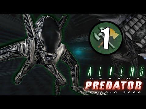 Alien Vs Predator (2000) Mission 1 | Xenomorph Gameplay